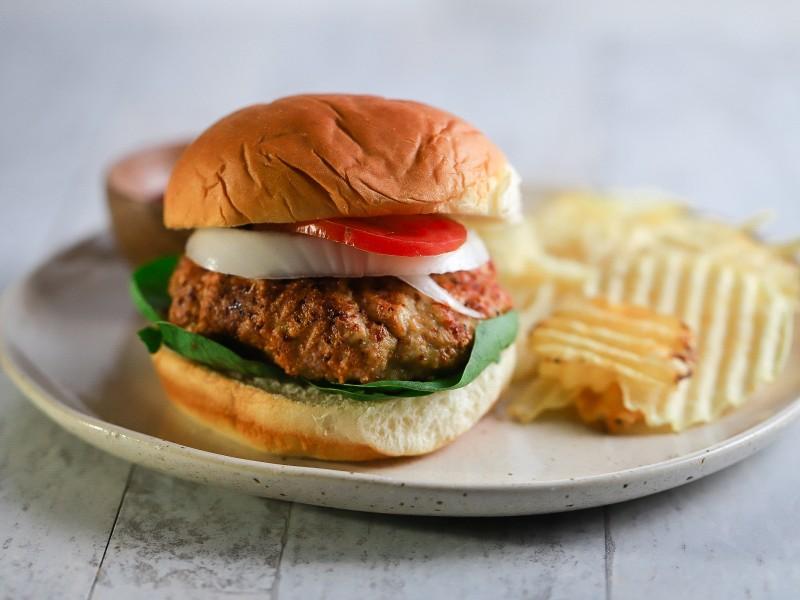 CrispLid Chicken Burger