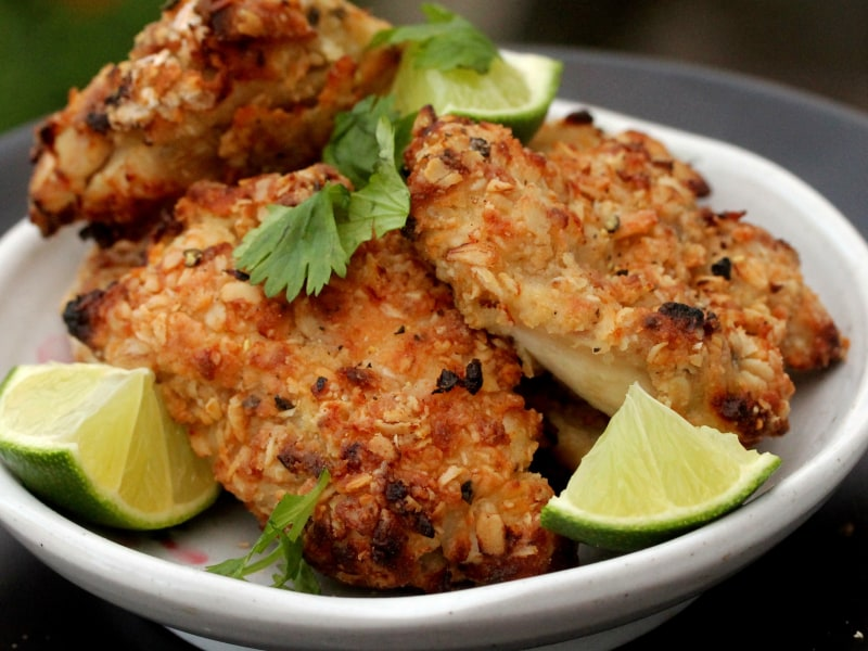 CrispLid Masala Fried Chicken