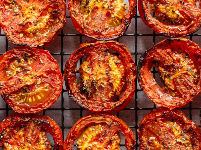 CrispLid Roasted Tomatoes