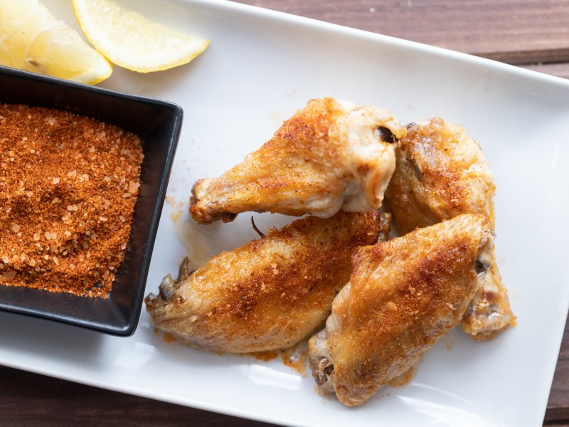 Air Fryer Old Bay Chicken Wings