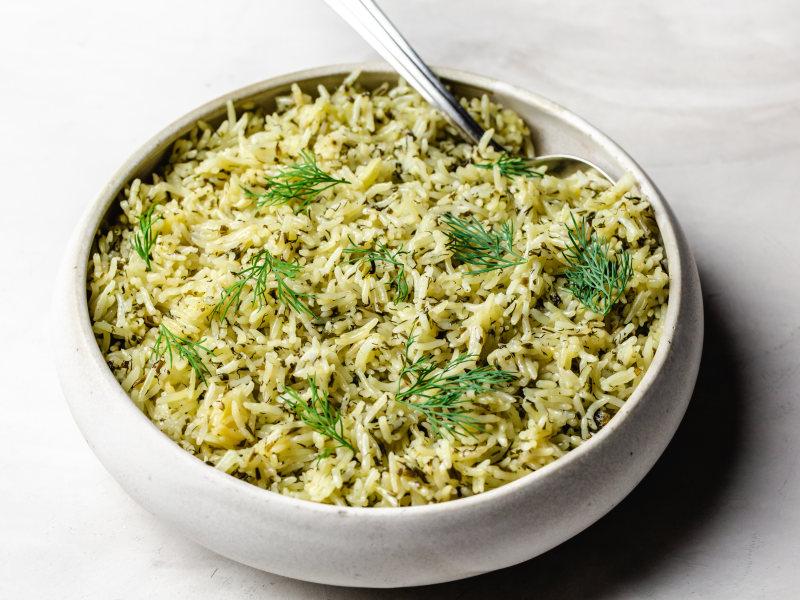 Pressure Cooker Persian Herb Rice