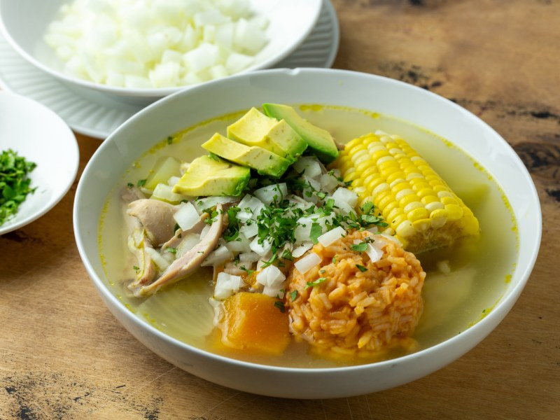 Pressure Cooker Caldo de Pollo (Chicken Soup)
