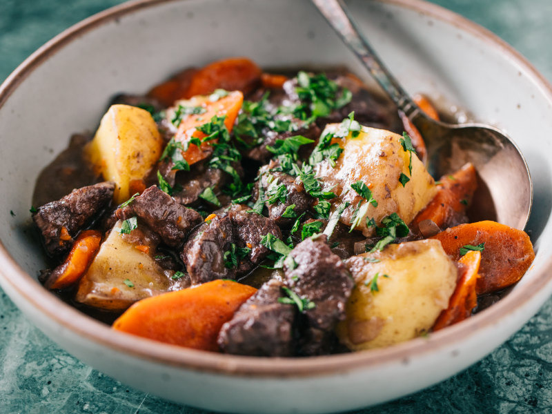 Pressure Cooker Beef and Potato Stew