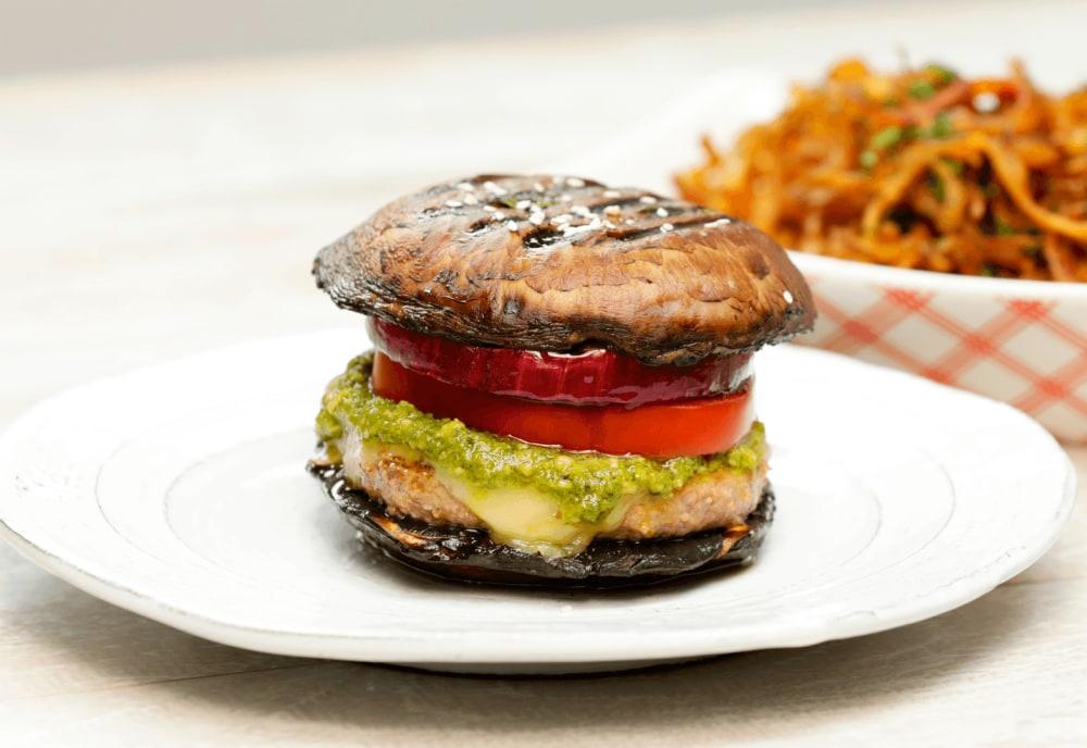 Portobello Mushroom Burger Mealthy Com