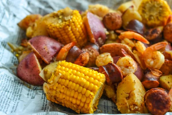 Pressure Cooker Low Country Boil