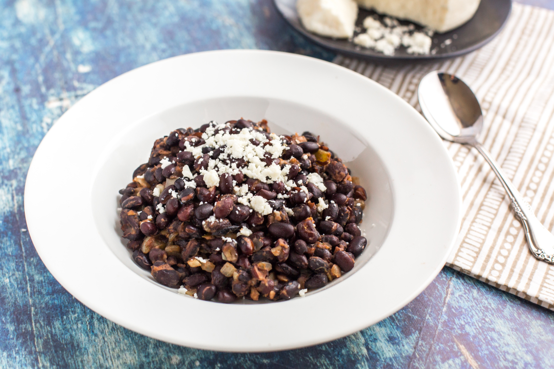 Cumin, Orange, and Green Chili Black Beans
