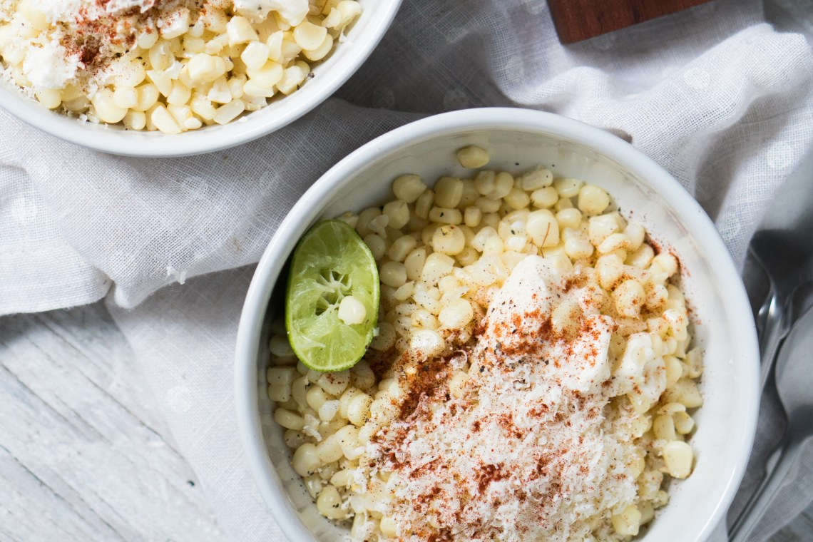 Mexican Corn Esquites
