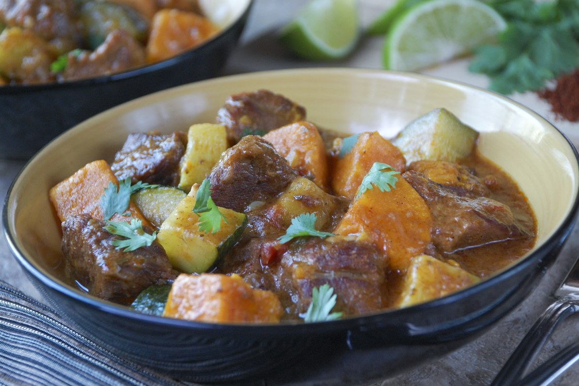 Ancho Chile Beef Stew