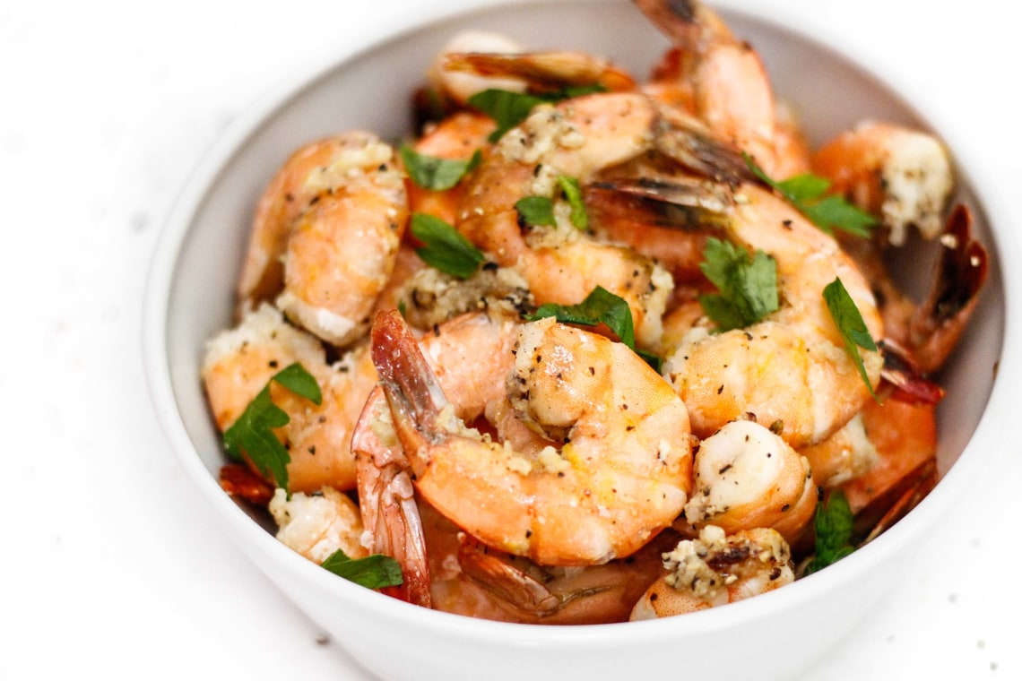 Lemon-Pepper Shrimp