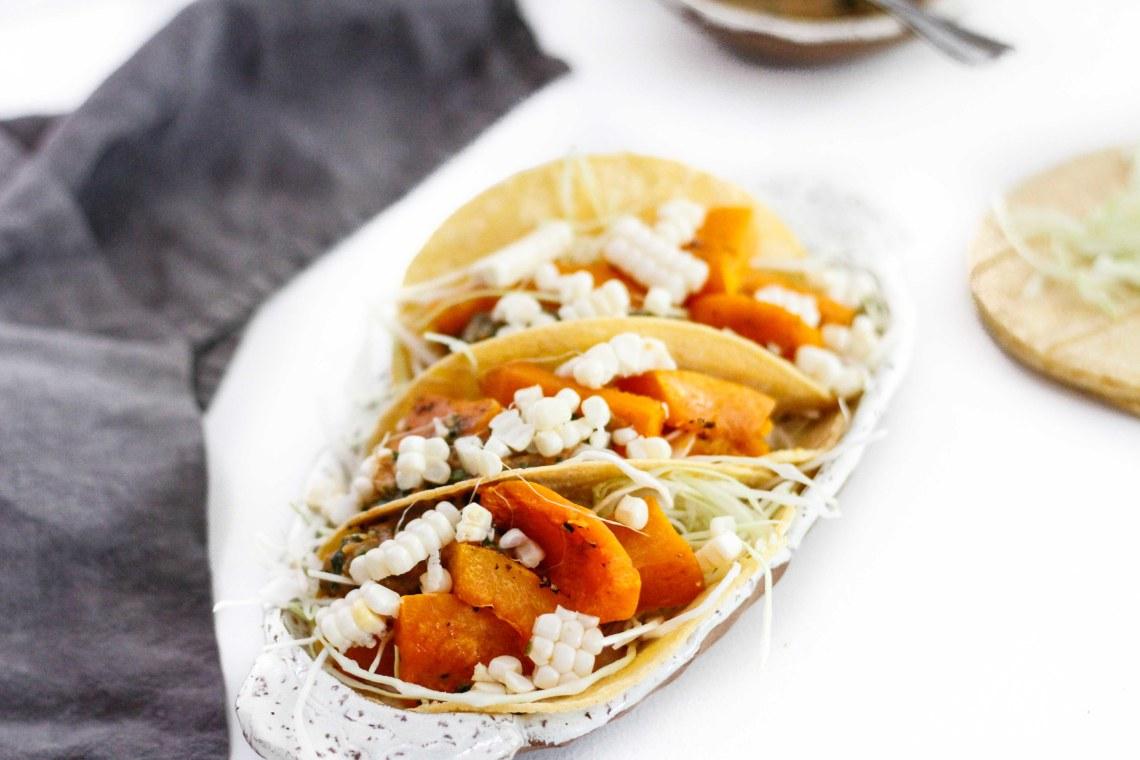 Butternut Squash Tacos