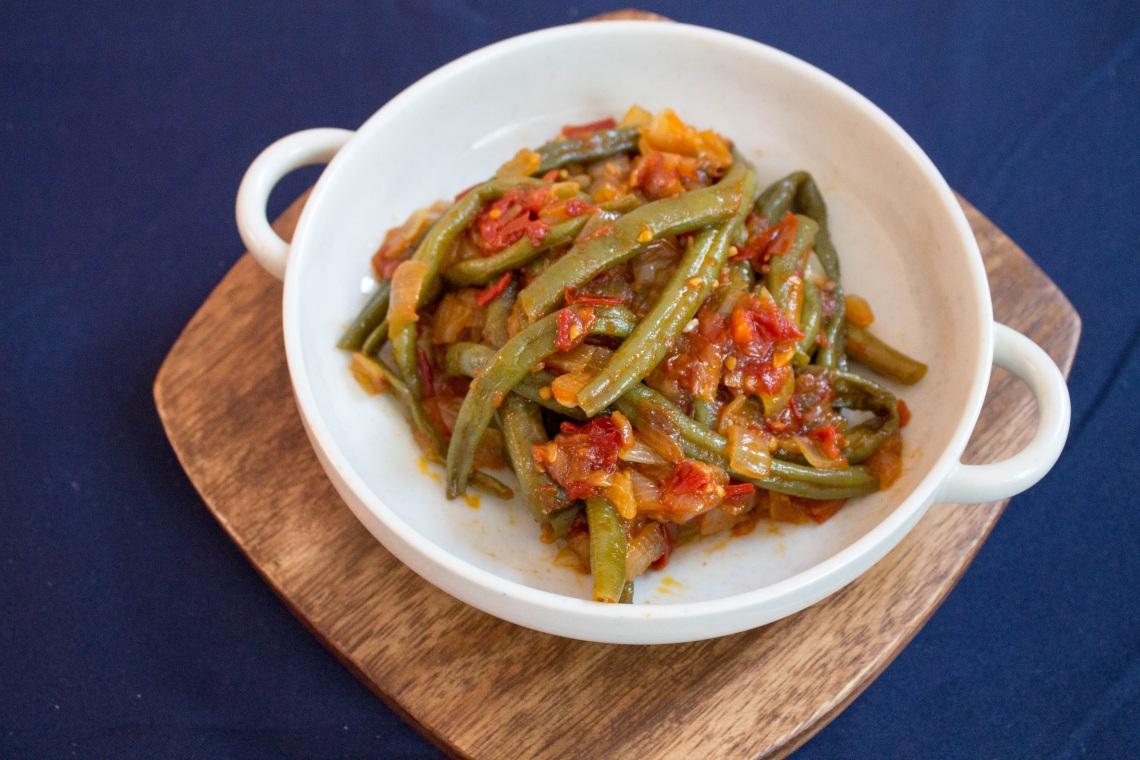 Greek-Style Braised Green Beans