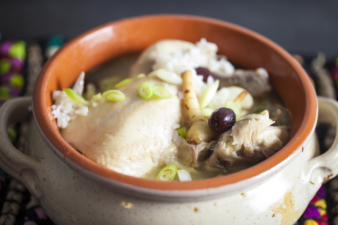 Korean Samgyetang Chicken Soup