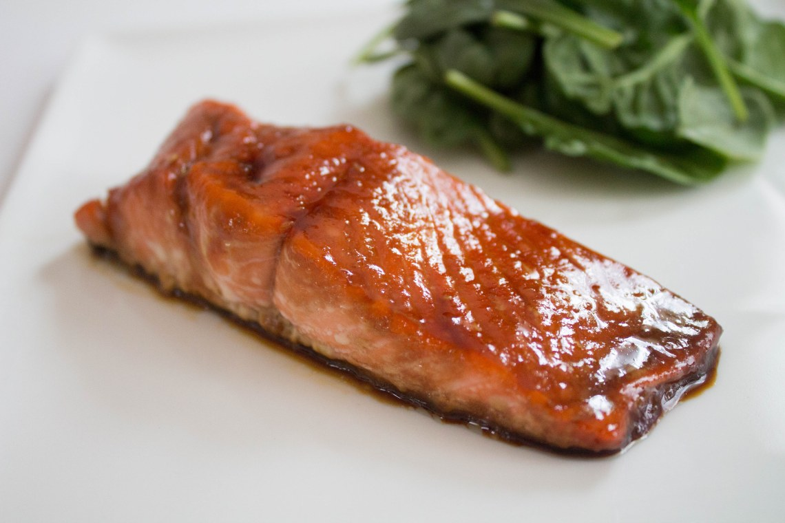 Maple Teriyaki Salmon