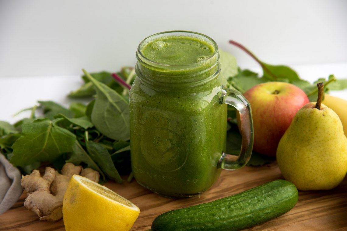 Green Ginger Power Smoothie