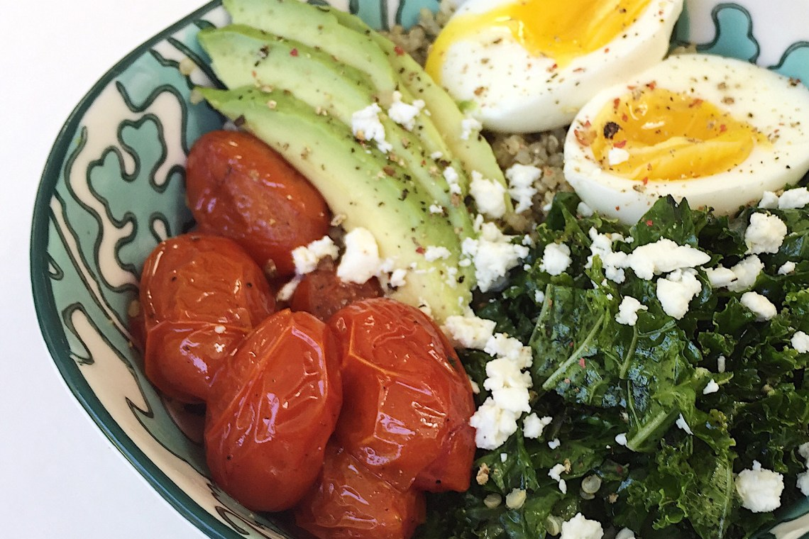 Savory Quinoa Breakfast Bowl