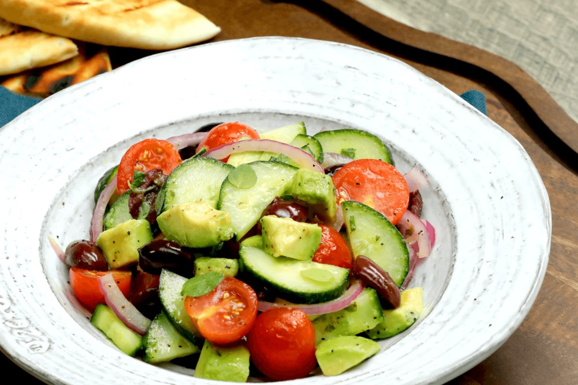 Greek Avocado Salad