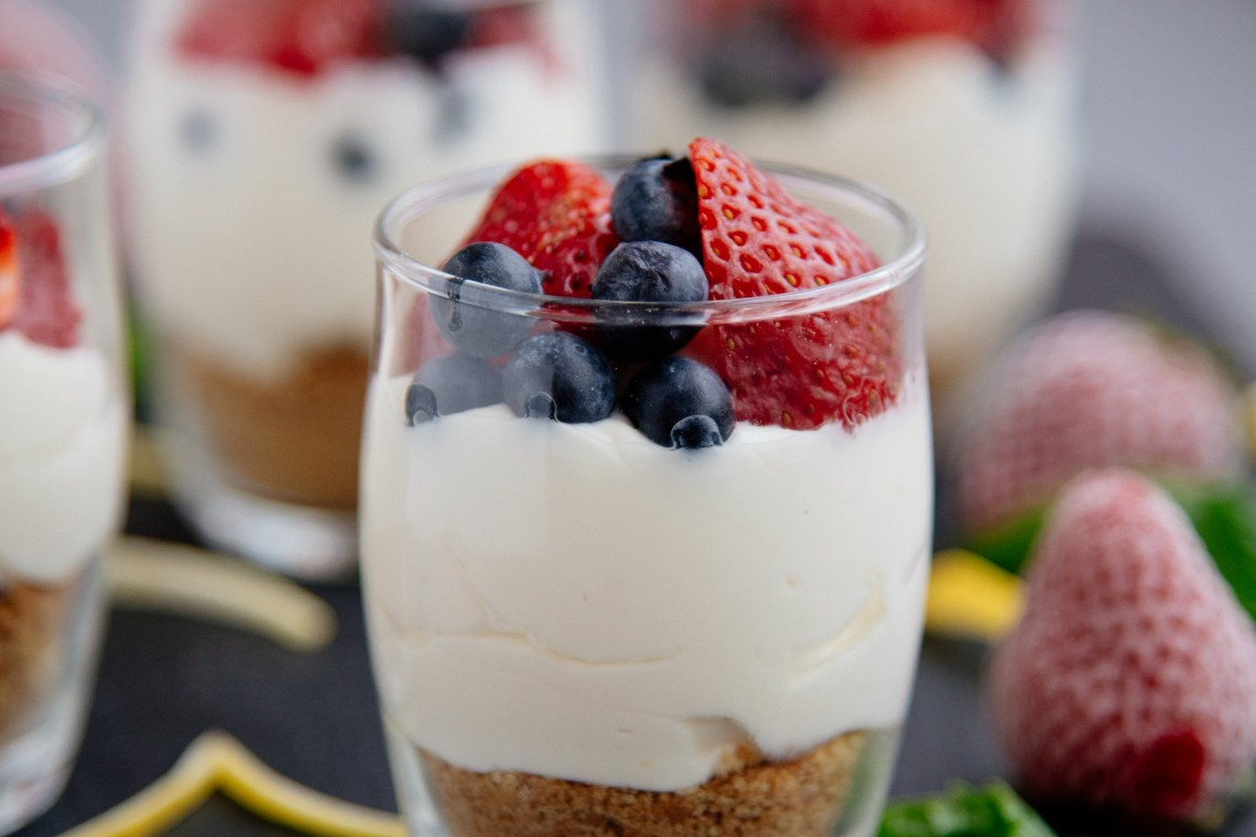 Easy Cheesecake Parfait