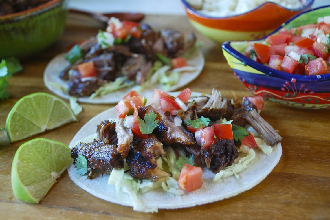 Meal Prep: Pressure Cooker Crispy Pork Carnitas