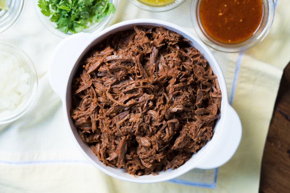 Pressure Cooker Beef Barbacoa