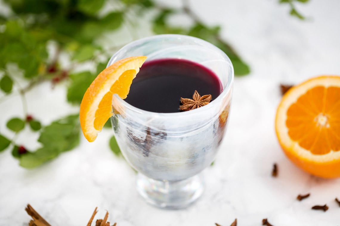 Pressure Cooker Mulled Red Wine