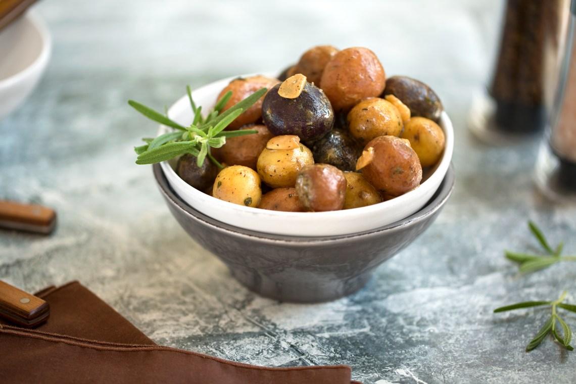 Pressure Cooker Rosemary and Garlic Potatoes