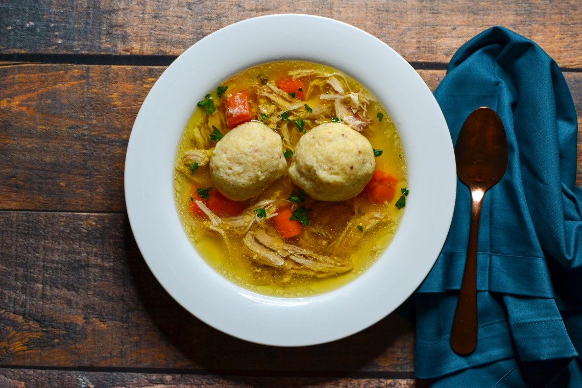 Pressure Cooker Matzo Ball Soup