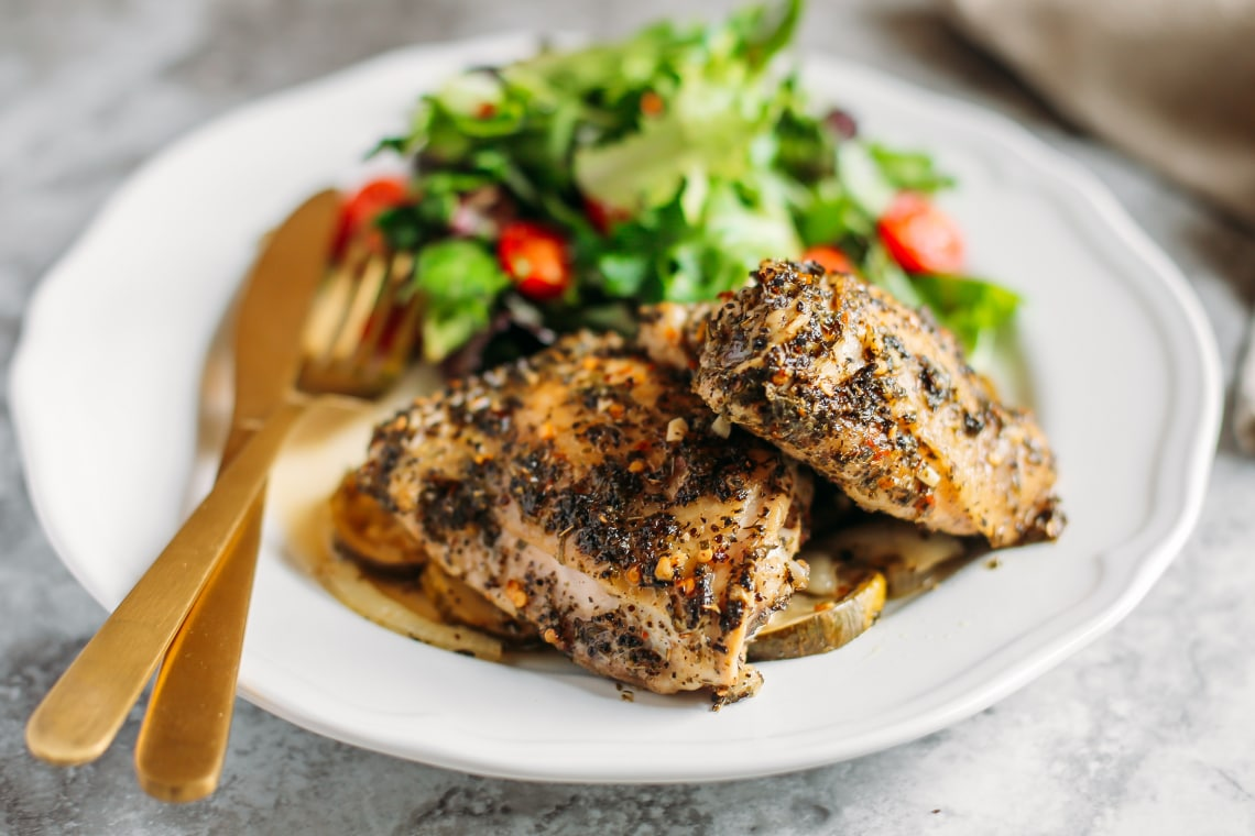 Mediterranean Roasted Chicken