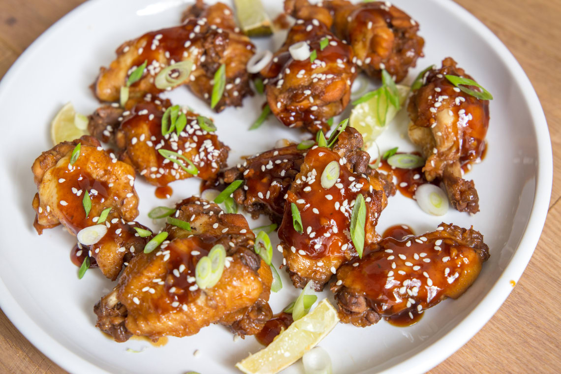 Pressure Cooker Teriyaki Chicken Wings