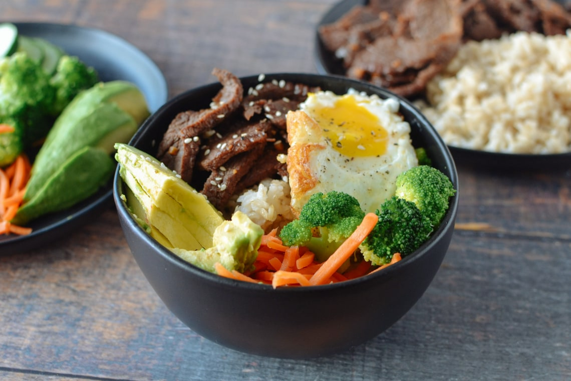 Beef Bulgogi Bowl Mealthy Com