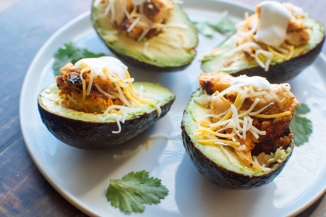 Chicken Avocado Boats