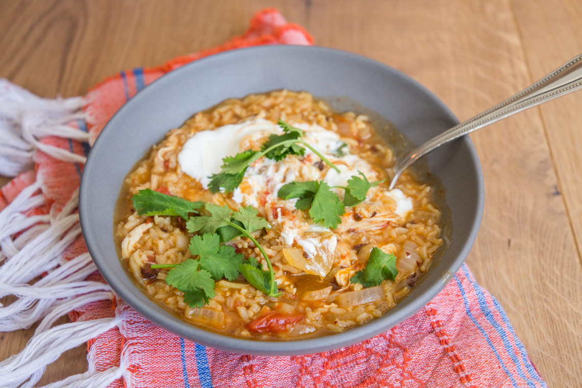 Chipotle Chicken and Rice Stew