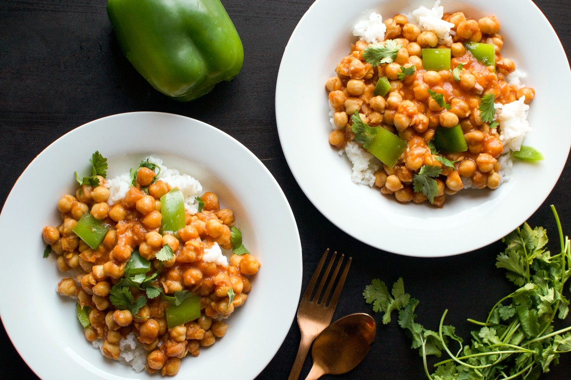 Vegan Butter Chickpea Curry