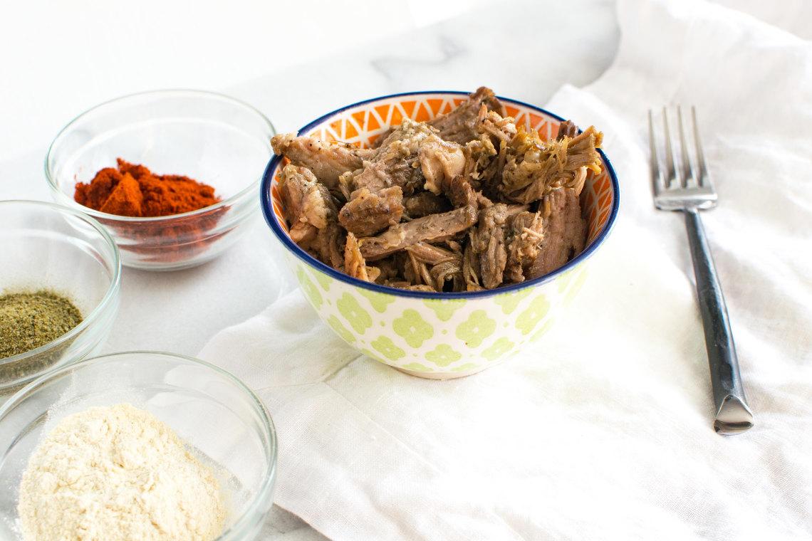 Pressure Cooker Jamaican Jerk Pulled Pork