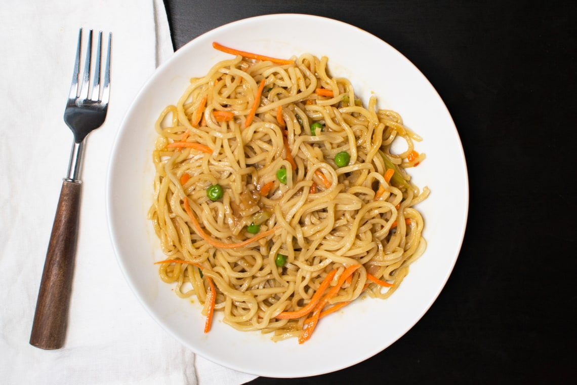 Pressure Cooker Vegetable Lo Mein