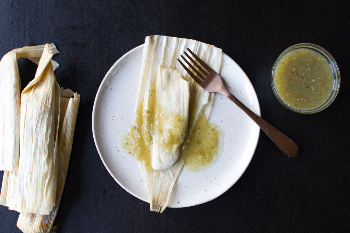 Pressure Cooker Chicken Tamales