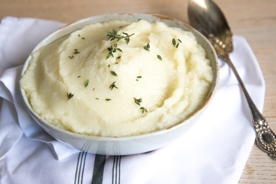 "Mashed (Cauliflower) ""Potatoes"""