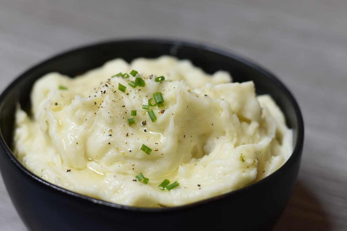 Pressure Cooker Perfectly Mashed Potatoes