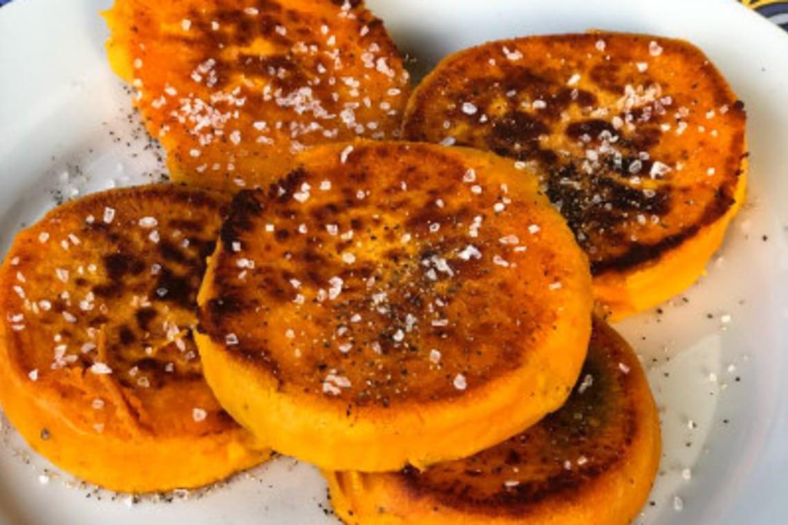 Pressure Cooker Sweet Potato Medallions