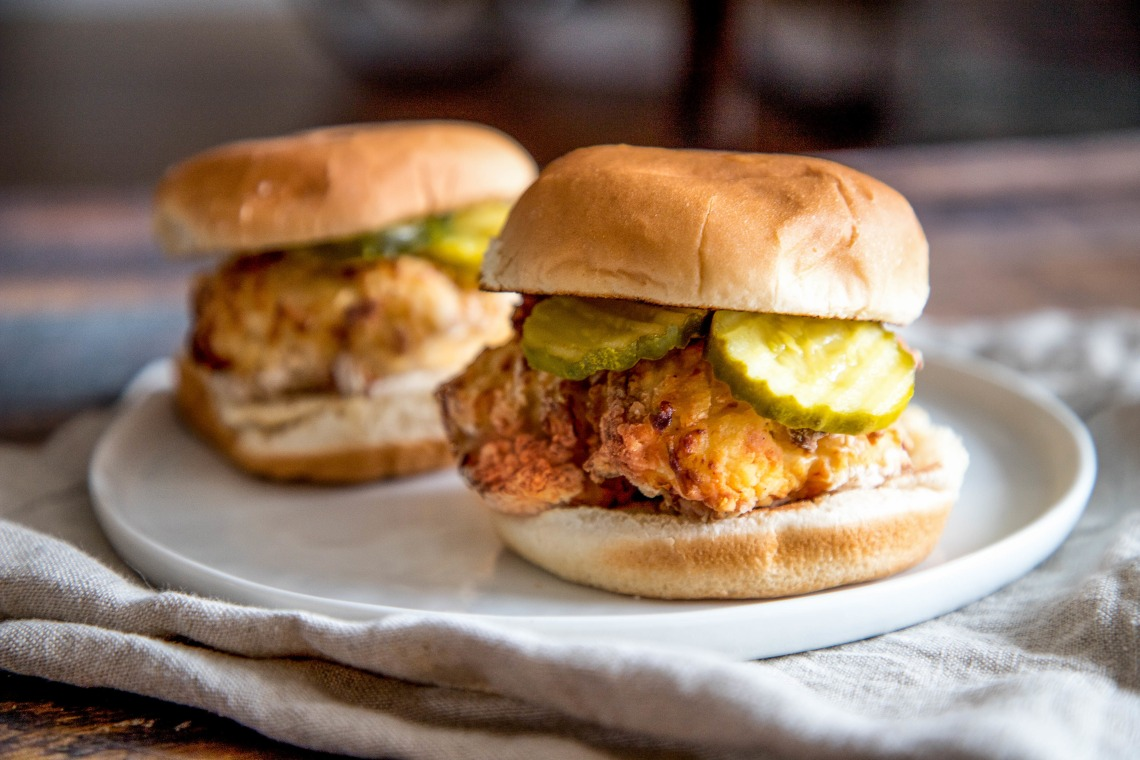 Air Fryer Chick-Fil-A Crispy Chicken Sandwich