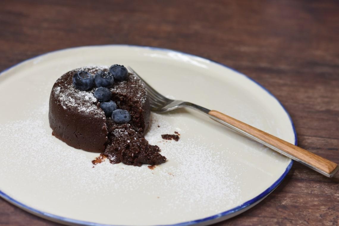 Pressure Cooker Chocolate Nutella Lava Cakes