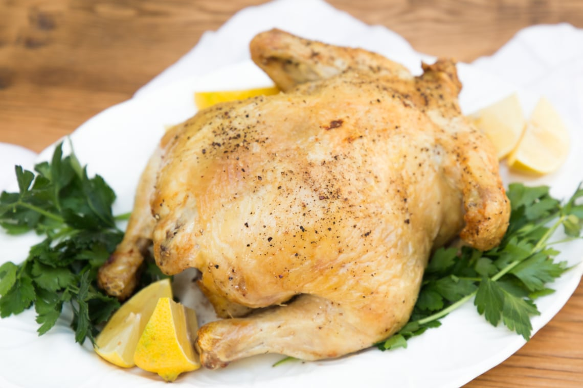 Air Fryer Whole Roast Chicken