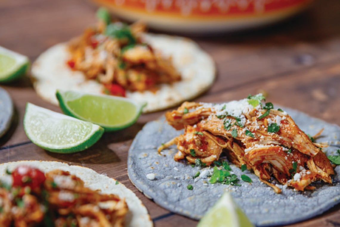Pressure Cooker Authentic Chicken Tinga