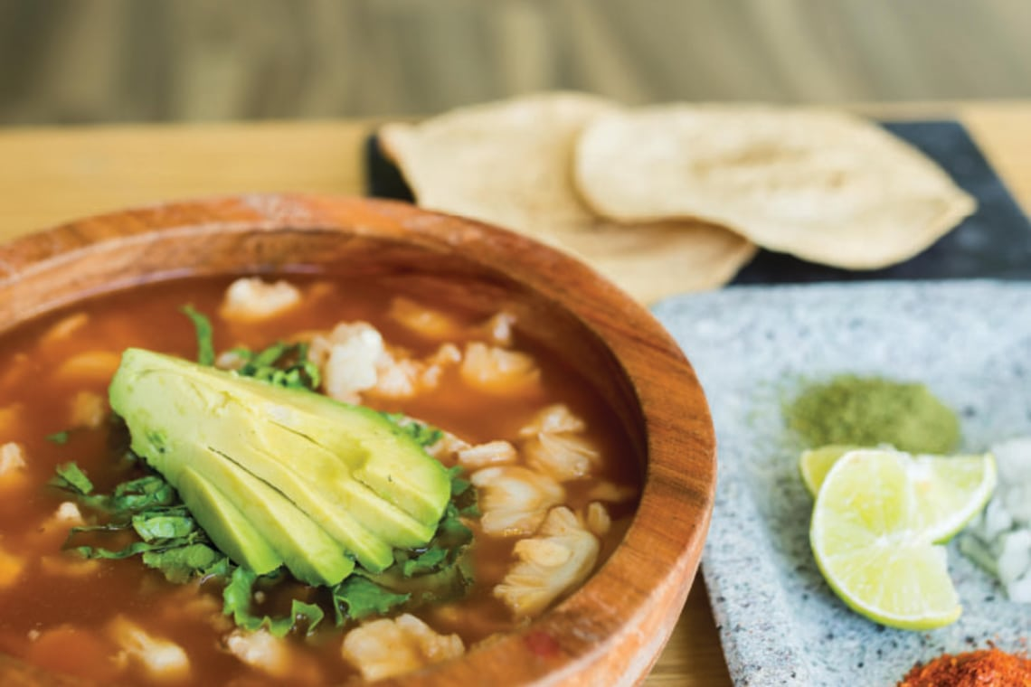 Pressure Cooker Authentic Red Pozole