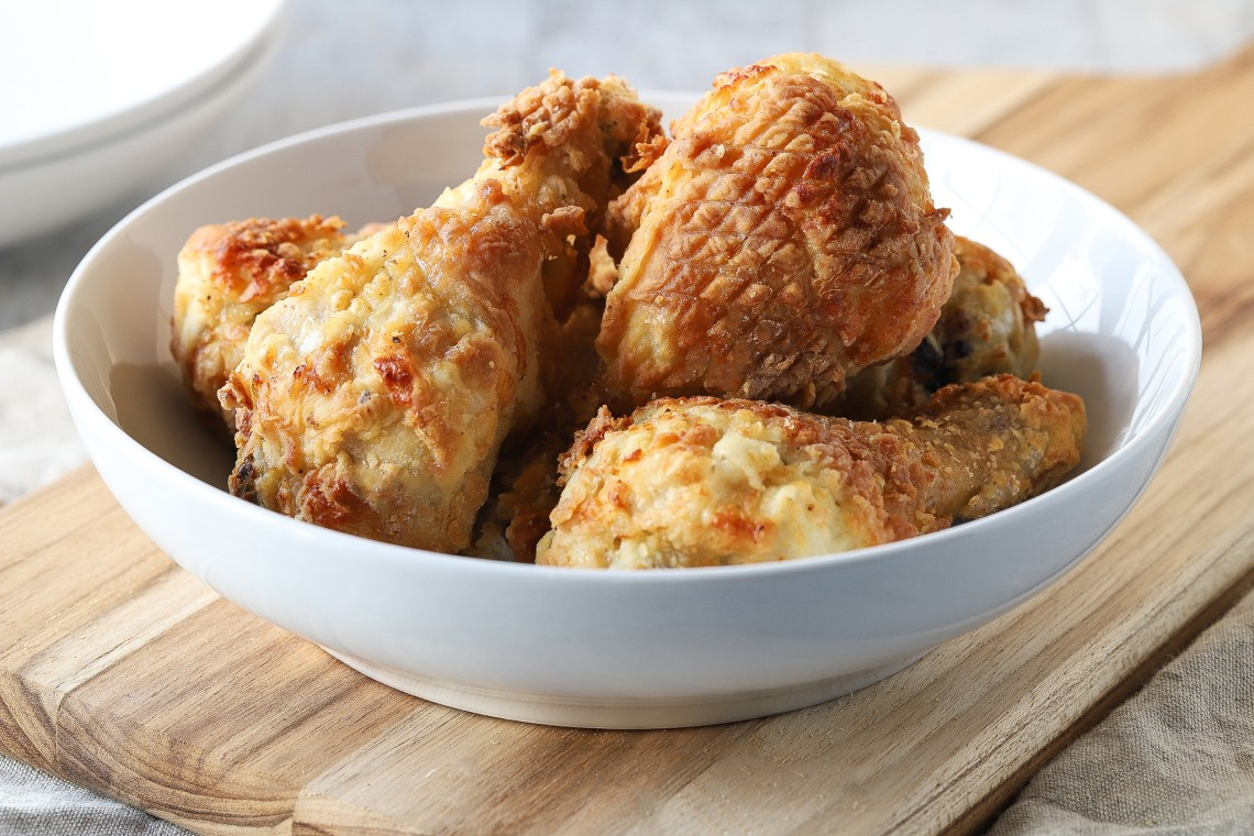 Air Fryer Fried Chicken Mealthy Com