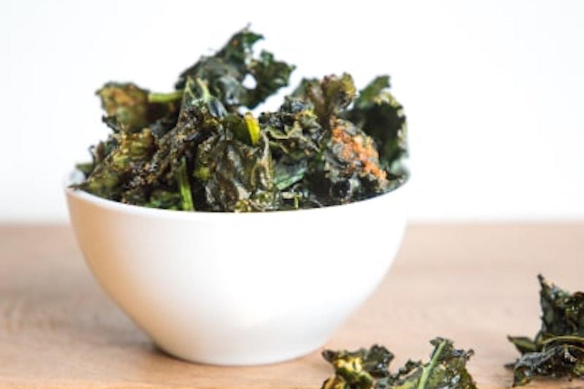 CrispLid Kale Chips