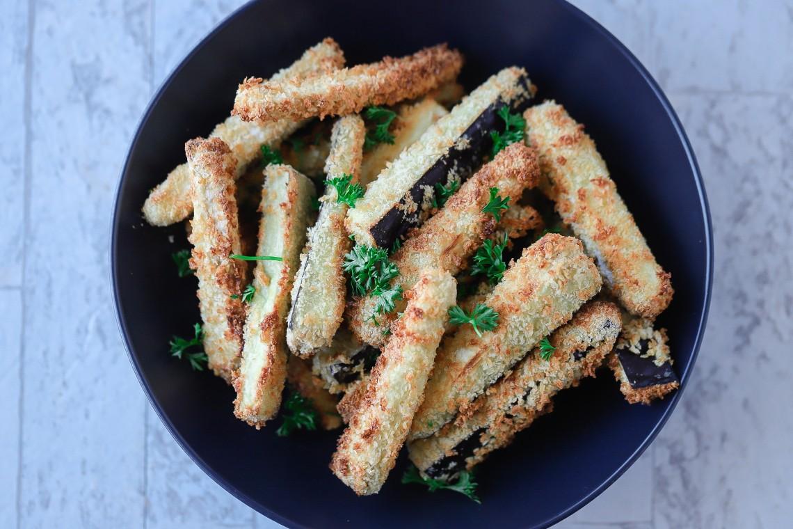 CrispLid Eggplant Fries