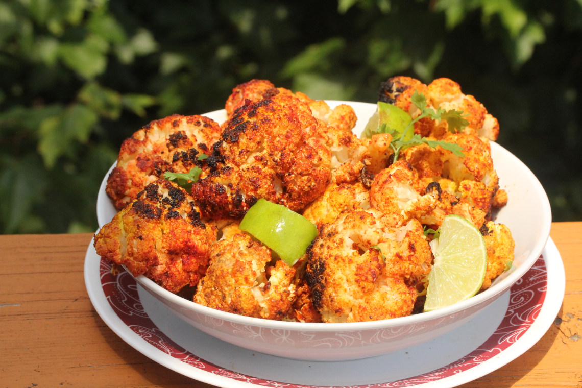 CrispLid Tandoori Gobi (Cauliflower Cooked with Tandoori Spices)