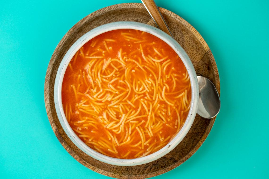 Pressure Cooker Sopa de Fideo