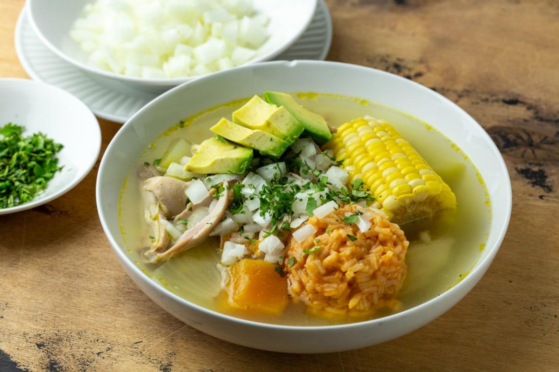 Pressure Cooker Caldo de Pollo (Chicken Soup)