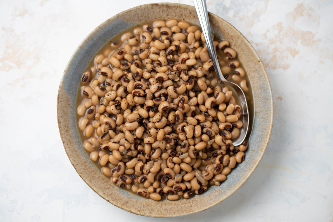 Pressure Cooker Black-Eyed Peas